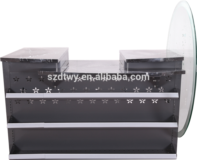 2016 DTWY Popular checkout counter unique design shop counter design
