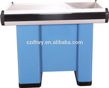 supermarket checkout counter commercial reception desk